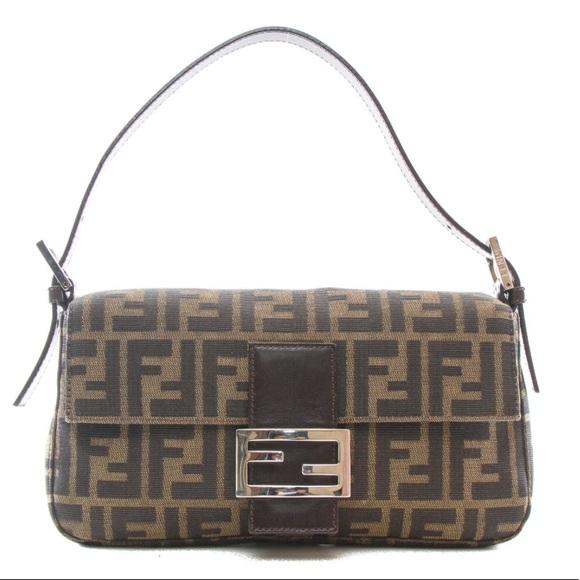 755186d4aaaa Fendi Handbags -  Authentic  Fendi Zucca Baguette Vintage Handbag